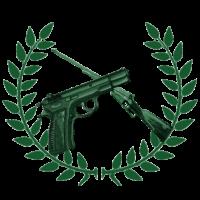 Logotipo Club Deportivo de Tiro Monte Perdido · El primer campo de tiro de La Palma, Fuencaliente.